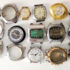 Relojes de pulsera: LOTE DE RELOJES DE PULSERA A CUERDA DOGMA,TIMEX,CLER,ORIENT. Lote 231178925