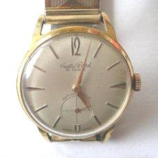 Relojes de pulsera: CRISTAL WATCH RELOJ SUIZO, FUNCIONA. MED 3 CM. Lote 232083315