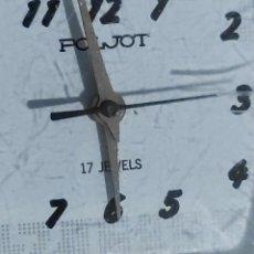Relojes de pulsera: RELOJ POLJOT ANTIGUO 17 JEWELS CARGA MUNDIAL FUNCIONA PERFECTAMENTE A LA HORA. Lote 232187025
