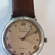 Relojes de pulsera: ANTIGUO RELOJ DE PULSERA, EXACTO GENEVE - NON MAGNETIC. Lote 233582625