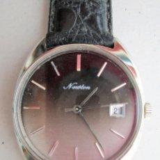 Relojes de pulsera: RELOJ DE PULSERA NEWTON - CARGA MANUAL, CUERDA - FUNCIONANDO - SIN ESTRENAR -. Lote 234452110