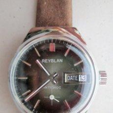 Relojes de pulsera: RELOJ DE PULSERA SUIZO REYBLAN - CARGA MANUAL, CUERDA - FUNCIONANDO - SIN ESTRENAR -. Lote 234452970