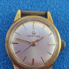 Relojes de pulsera: 29-RELOJ CERTINA SRA., CARGA MANUAL, CALIBRE 17-25, INCABLOC, 17 RUBÍS. FUNCIONA (VER VÍDEO). Lote 234526745