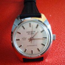 Relojes de pulsera: RELOJ ASEIKON DE LUXE ANTIMAGNETIC CARGA MANUAL.. Lote 234554815