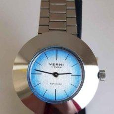 Relojes de pulsera: RELOJ VERNI, DE CUERDA, VINTAGE, C1970, NOS (NEW OLD STOCK). Lote 234726300