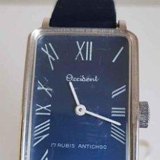 Relojes de pulsera: RELOJ OCCIDENT, DE CUERDA, VINTAGE, C1970, NOS (NEW OLD STOCK). Lote 234728005
