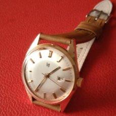 Relojes de pulsera: RELOJ LIP CARGA MANUAL CHAPADO ORO.. Lote 234986485
