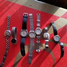 Relojes de pulsera: LOTE DE RELOJES LEER ANTES DE PUJAR. Lote 235299670