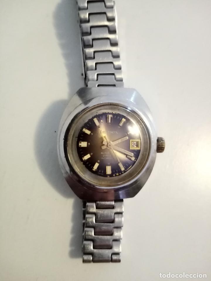 Relojes de pulsera: RELOJ DE PULSERA IMPEX AUTOMATIC SWISS MADE PARA MUJER - Foto 6 - 235356715