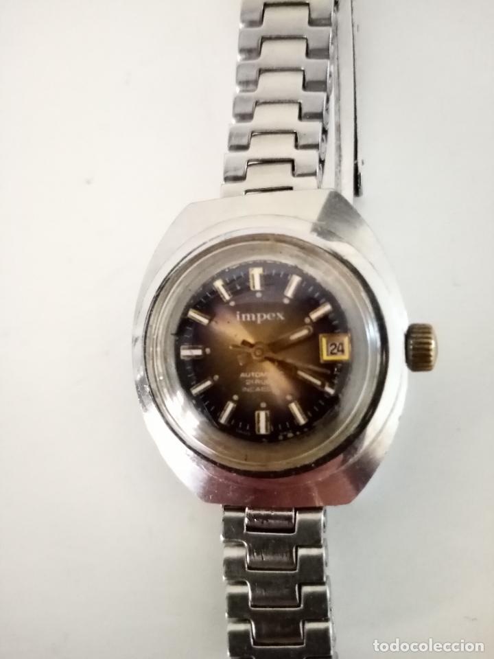 Relojes de pulsera: RELOJ DE PULSERA IMPEX AUTOMATIC SWISS MADE PARA MUJER - Foto 2 - 235356715