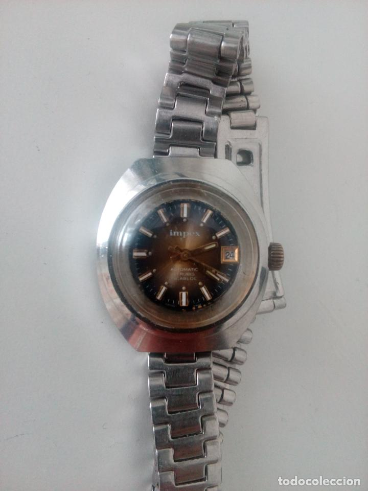 RELOJ DE PULSERA IMPEX AUTOMATIC SWISS MADE PARA MUJER (Relojes - Pulsera Carga Manual)