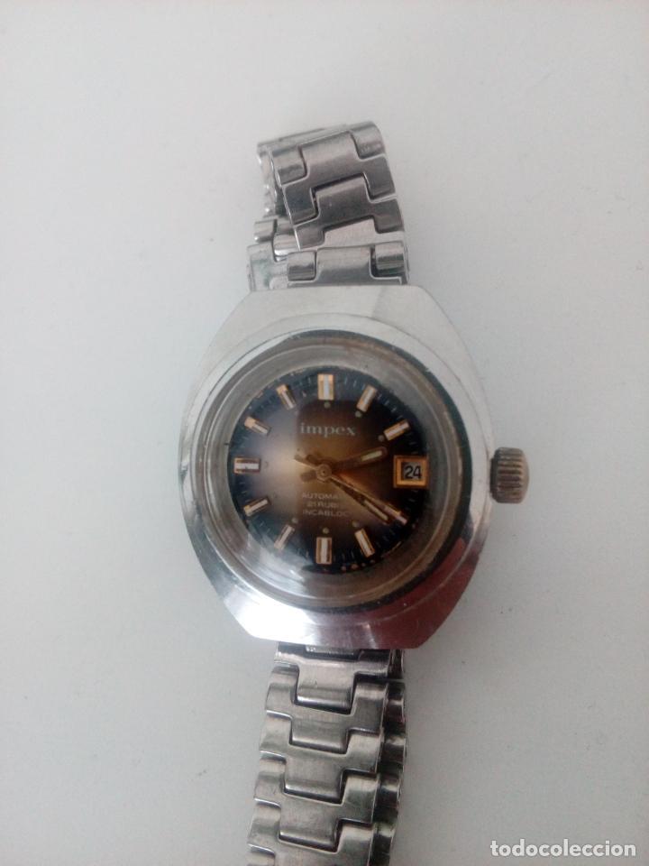 Relojes de pulsera: RELOJ DE PULSERA IMPEX AUTOMATIC SWISS MADE PARA MUJER - Foto 3 - 235356715