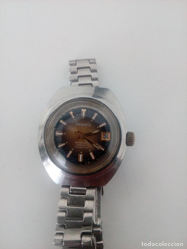 Relojes de pulsera: RELOJ DE PULSERA IMPEX AUTOMATIC SWISS MADE PARA MUJER - Foto 4 - 235356715
