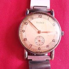 Relojes de pulsera: RELOJ SICORIS FUNCIONA BIEN .MIDE 38 MM DIAMETRO. Lote 236359635