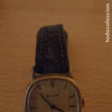Relojes de pulsera: I - RELOJ BULER - STAINLESS STEEL BACK - SWISS - 10270 - 23472. Lote 236600355