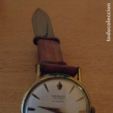 Relojes de pulsera: I - RELOJ HERMO SWISSE 21 JEWELS - INCABLOC ANTIMAGNETIC - WATERPROOF - FUNCIONA. Lote 236604160