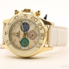 Relojes de pulsera: CRONOGRAFO MECANICO 3H ITALIA. Lote 236605645