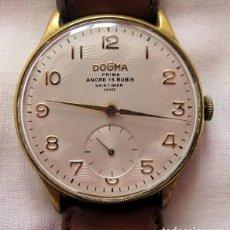 Relojes de pulsera: RELOJ DE CUERDA ANTIGUO DOGMA PRIMA GRANDE ETA853. Lote 236759640