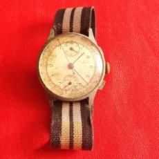 Relojes de pulsera: ANTIGUO RELOJ DE CHRONOGRAFO NO FUNCIONA .MIDE 35 MM DIAMETRO TAL CUAL COMO SE VE EN FOTOS. Lote 236920230