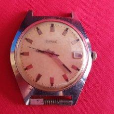 Relojes de pulsera: RELOJ DIAMANT NO FUNCIONA.MIDE 37 MM DIAMETRO. Lote 236928735