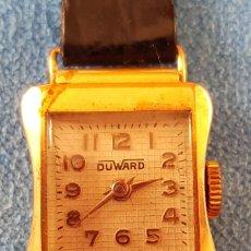 Relojes de pulsera: 53-ANTIGUO RELOJ DUWARD SRA. ORO 18K - 17 RUBÍS. AÑOS 30-40. Lote 237190690
