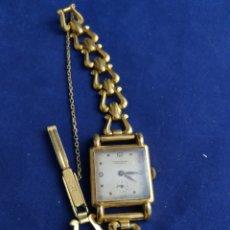 Relojes de pulsera: RELOJ ERNEST BOREL NEUCHATEL SUIZA . DORADO. Lote 237831505
