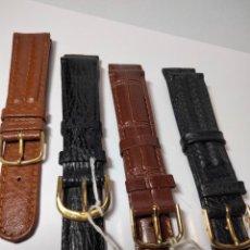 Relojes de pulsera: LOTE CORREAS 18. Lote 237930100