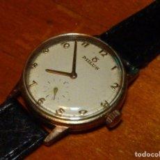 Relojes de pulsera: ELEGANTE RELOJ MILUS CARGA MANUAL CALIBRE AROGNO 152 AÑOS 50 COLECCION. Lote 238672575