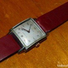 Relojes de pulsera: PRECIOSO RELOJ LANCO SWISS MADE CALIBRE ETA 1080 AÑOS 50 CAJA TIPO TANK 15 RUBIS SEGUNDERO CENTRAL. Lote 238674750
