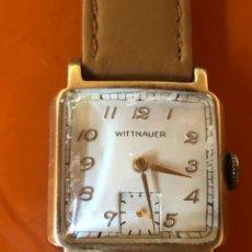 Relojes de pulsera: RELOJ AÑOS 40 MARCA WITTNAUER CAJA 10 K FUNCIONA. Lote 238801365