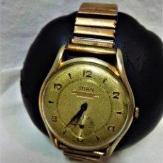 Relojes de pulsera: RELOJ PULSERA CABALLERO TITÁN DE LUXE,17 RUBIS SWIS MADE.EN FUNCIONAMIENTO.VER DESCRIPCIÓN.. Lote 240251405