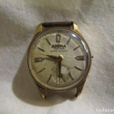 Relojes de pulsera: DOGMA PRIMA - ANCRE 15 RUBIS - CHAPADO EN ORO 10 MICRAS. Lote 240410100