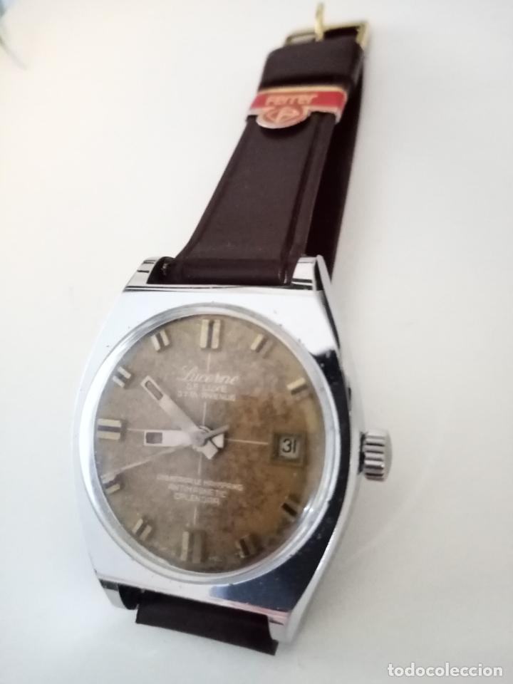 Relojes de pulsera: RELOJ DE PULSERA LUCERNE DE LUXE SWISS MADE MECANICO - Foto 3 - 240484465
