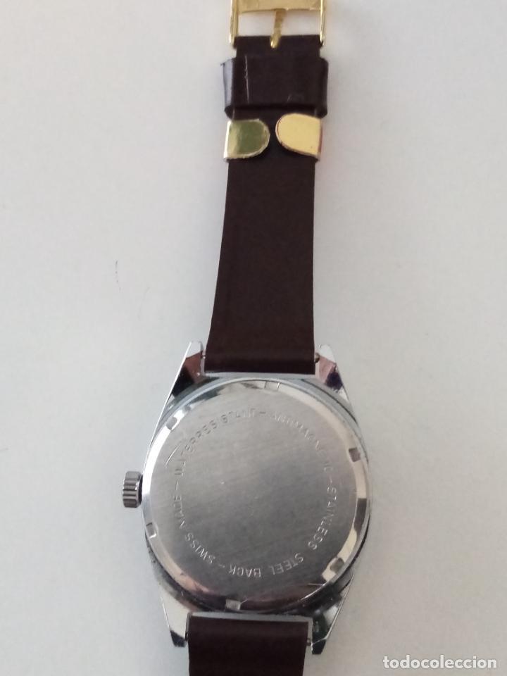 Relojes de pulsera: RELOJ DE PULSERA LUCERNE DE LUXE SWISS MADE MECANICO - Foto 4 - 240484465