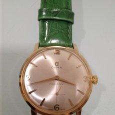 Relojes de pulsera: RELOJ CYMA EN ORO MACIZO DE 18 K DE CABALLERO. Lote 240493585