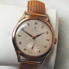 Relojes de pulsera: RELOJ CYMA. AÑOS 60. R-0586 K FUNCIONANDO. REVISADO. ((38.50 MM.S/C)). DESCRIPCION Y FOTOS.. Lote 241652390