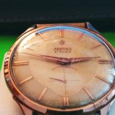 Relojes de pulsera: ANTIGUO RELOJ FESTINA 21 RUBIS. AÑOS 60. REVISADO Y FUNCIONANDO. 39.2 MM.C/C. DESCRIPCION Y FOTOS.. Lote 241658705