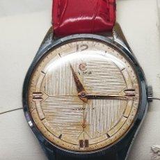 Relojes de pulsera: ANTIGUO CYMA - AÑOS 50. R-0586 K FUNCIONANDO. 37 MM. A RAS CAJA. DESCRIPCION Y FOTOS.. Lote 241668995