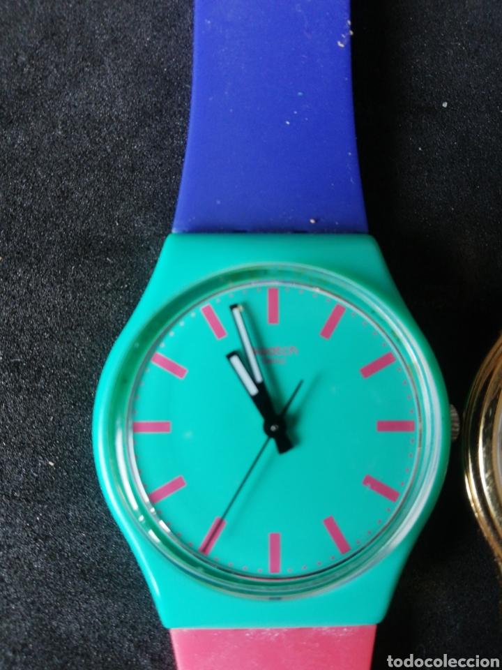 Relojes de pulsera: Lote Casio Festina Viceroy y Swatch 5 unidades - Foto 2 - 241894850