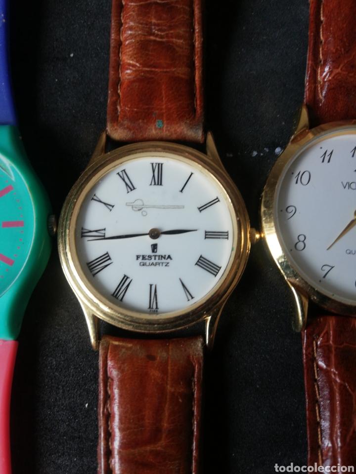 Relojes de pulsera: Lote Casio Festina Viceroy y Swatch 5 unidades - Foto 3 - 241894850