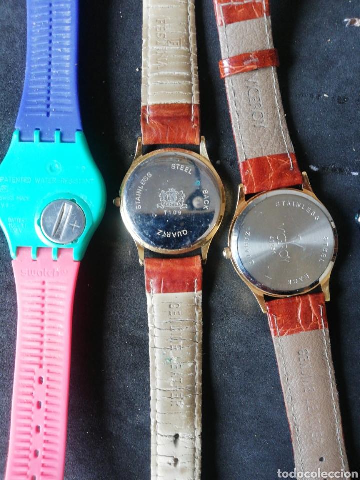 Relojes de pulsera: Lote Casio Festina Viceroy y Swatch 5 unidades - Foto 7 - 241894850