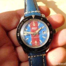 Relojes de pulsera: RELOJ MANUAL DE LA MARCA BLOCH C.F. BARCELONA BARÇA FÚTBOL AÑOS 70. Lote 241915450
