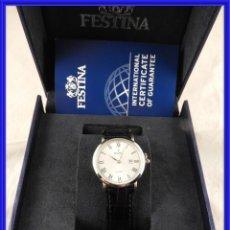 Relojes de pulsera: RELOJ DE PULSERA FESTINA CUARZO A ESTRENAR CON CAJA. Lote 242387640