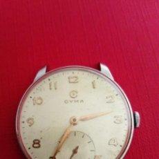Relojes de pulsera: RELOJ CYMA CAJA DE ACERO INOX. Lote 243095010