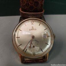 Relojes de pulsera: RELOJ CABALLERO LANCO. Lote 243543205