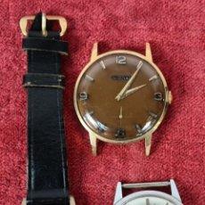 Relojes de pulsera: CONJUNTO DE 3 RELOJES DE PULSERA. DUWARD Y MOVADO. SUIZA. CIRCA 1960.. Lote 243597340