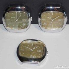Relojes de pulsera: LOTE 3 RELOJES THERMIDOR VINTAGE, C1970. Lote 243633820