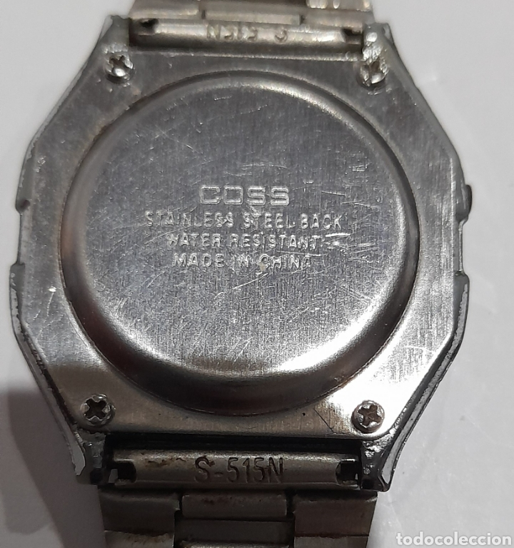 Relojes de pulsera: Reloj COSS S- 515 - N Digital WR. Ver fotos. - Foto 8 - 243647425