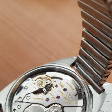 Relojes de pulsera: RELOJ DE COLECION LONGINES CARGA MANUAL CASI A ESTRENAR CAJA DE ACERO CON CALENDARIO FUNCIONA MIRA. Lote 243831100