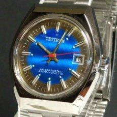 Relojes de pulsera: RELOJ CETIKON DE CUERDA, VINTAGE, NOS (NEW OLD STOCK). Lote 243847470